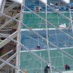Platforma zabezpieczająca budowlana